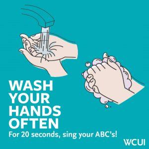 Healthy Hygiene wash your hands