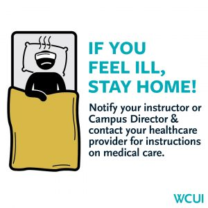 Healthy Hygiene- If you feel ill stay home