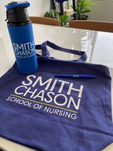 Smith Chason School of Nursing Nurses Week swag items