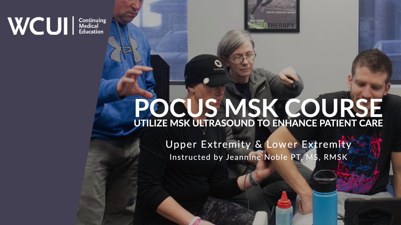 POCUS MSK Course