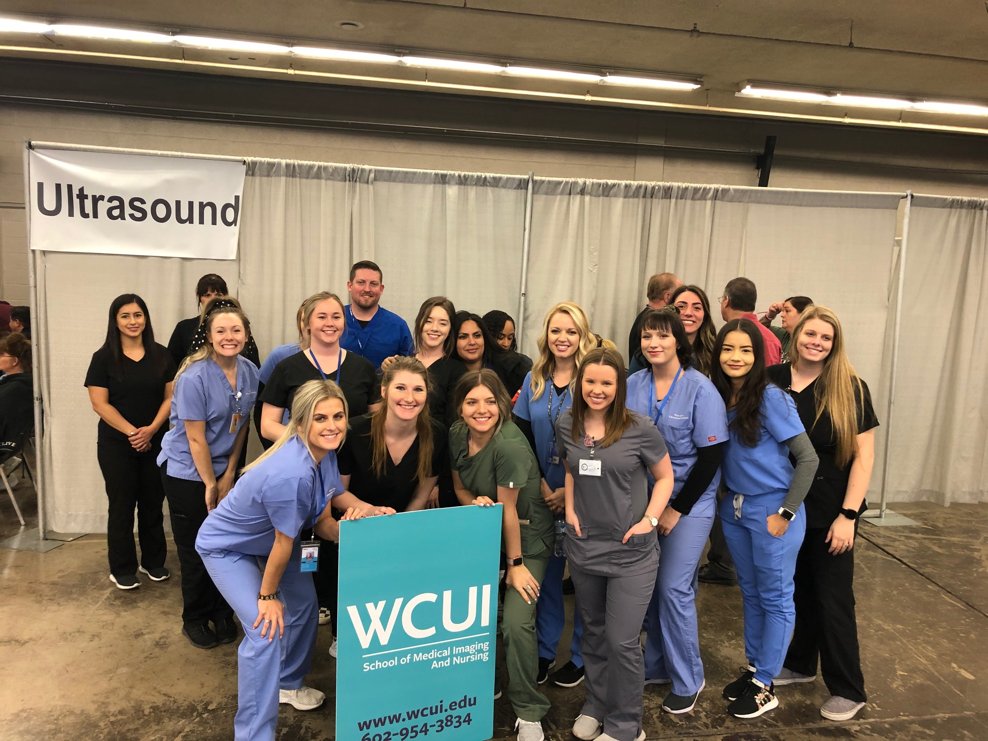 WCUI Students and Staff at the 2020 MC StandDown