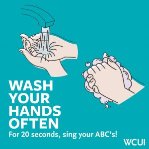 Healthy Hygiene wash your hands