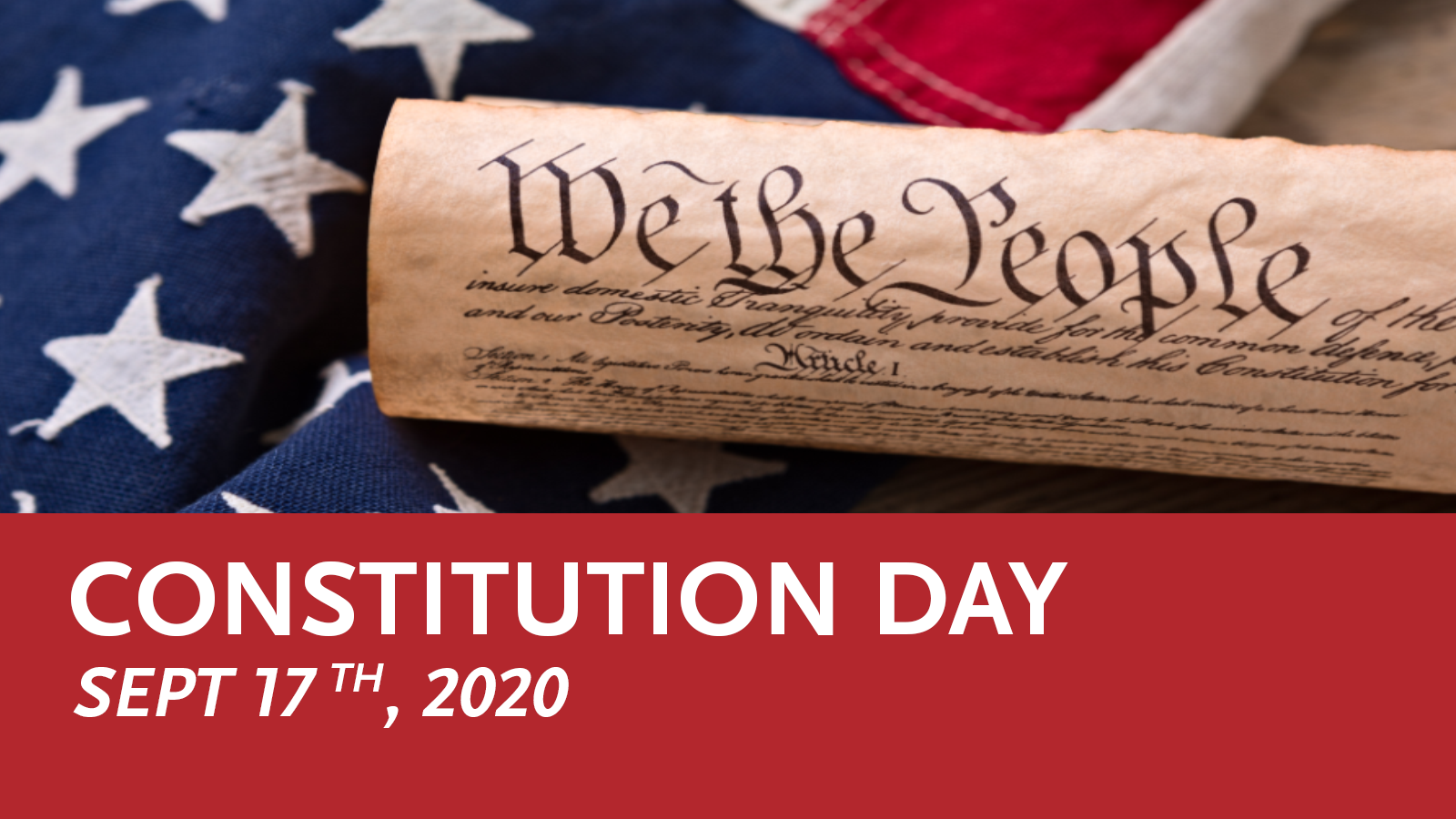 Constitution Day Sept 17, 2020