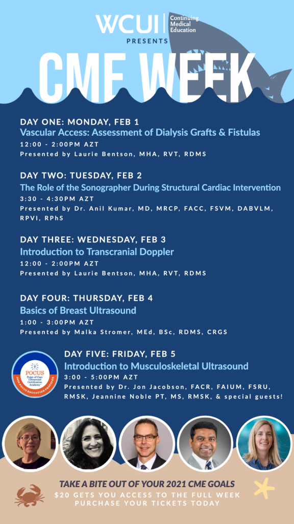 2021 CME Week Schedule and Presenters